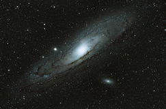 Andromeda Galaxy M31 - Astronomy stock photo
