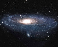 Andromeda Galaxy M31 royalty free illustration