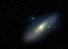 Andromeda Galaxy (M31) Royalty Free Stock Photos