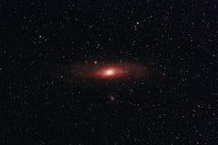 Andromeda Galaxy stock image