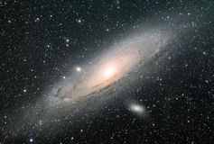 Andromeda Galaxy Royalty Free Stock Images