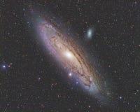 Andromedy galaktyka Fotografia Royalty Free