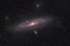 andromedy galaxy Zdjęcia Royalty Free