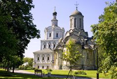 the Andronicus monastery Stock Photography