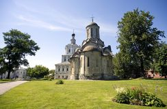 The Andronicus monastery Stock Photo