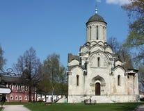 andronikov修道院莫斯科俄国 免版税库存图片