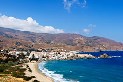 Andros, Grecia Imágenes de archivo libres de regalías
