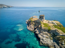 Andros-Insel Griechenland stockfoto