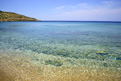 Andros island Greece stock photography