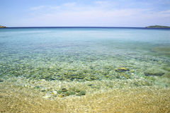 Andros island Greece Stock Image
