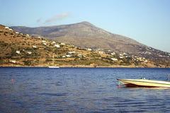 Andros island Greece Stock Photos