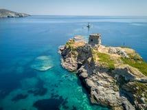 andros wyspa Greece zdjęcie stock