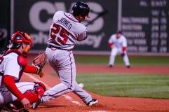 Andruw Τζόουνς Atlanta Braves Στοκ Εικόνες