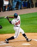 Andruw Τζόουνς, Atlanta Braves outfielder Στοκ Φωτογραφία