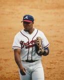 Andruw Τζόουνς, Atlanta Braves outfielder Στοκ φωτογραφίες με δικαίωμα ελεύθερης χρήσης