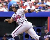 Andruw Jones, Atlanta Braves. Atlanta Braves OF Andruw Jones. (Image taken from color slide Stock Images