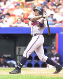 Andruw Jones, Atlanta Braves. Atlanta Braves slugger Andruw Jones. (Image taken from color slide Stock Images
