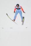 Andrzej跳台滑雪的Gasienica - 库存照片