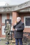 Andrzej Melak, deputado Polish Republic, dia nacional do remembran Imagem de Stock Royalty Free