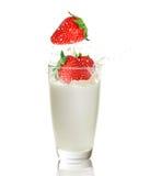 ands φράουλα γάλακτος Στοκ φωτογραφία με δικαίωμα ελεύθερης χρήσης