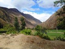 Ands w Peru Fotografia Royalty Free