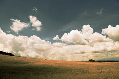 Andscape φιλτραρισμένη στη φθινόπωρο εικόνα Στοκ Εικόνες