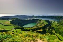 Andscape Азорских островов изумительное lpanoramic Стоковые Изображения RF