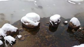 Andscape de Winterl Imagem de Stock Royalty Free