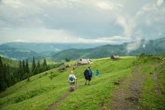 Andscape In The Carpathian Mountains Royalty Free Stock Images