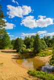 Andscape with river Royalty Free Stock Image