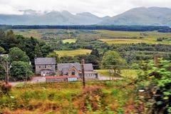 Andscapes και χωριά των ορεινών περιοχών, Σκωτία Στοκ Φωτογραφίες
