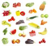 Andvegetables della frutta di Freshs fotografia stock libera da diritti