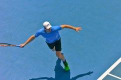 Andy Мюррей играя в открытом чемпионате Австралии по теннису Стоковые Изображения RF