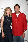 Andy Buckley, Helen Slater Stock Images