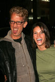 Missy Peregrym,Andy Dick Stock Image