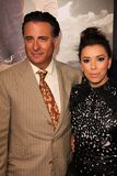 Andy Garcia, Eva Longoria at the  Royalty Free Stock Image