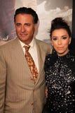 Andy Garcia, Eva Longoria bij   Royalty-vrije Stock Afbeelding