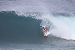 Andy Irons at Pipemasters Royalty Free Stock Photo
