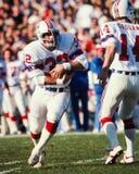 Andy Johnson New England Patriots Στοκ εικόνα με δικαίωμα ελεύθερης χρήσης
