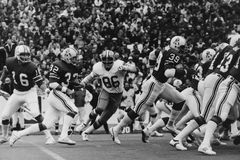 Andy Johnson, New England Patriots. Royalty Free Stock Images