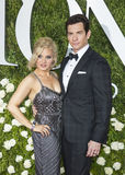 Andy Karl and Orfeh Royalty Free Stock Photography