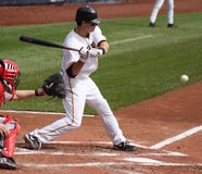 Andy LaRoche des pirates de Pittsburgh Photographie stock libre de droits