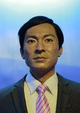 Andy lau wax figure Royalty Free Stock Photos