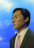 Andy lau wax figure Stock Photography