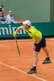 Andy Murray στη δεύτερη στρογγυλή αντιστοιχία, Roland Garros 2014 στοκ φωτογραφίες με δικαίωμα ελεύθερης χρήσης