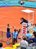 Andy Murray at the ATP Mutua Open Madrid Royalty Free Stock Photography
