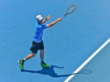 Andy Murray bawić się w australianie open Obraz Stock