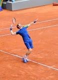 Andy Murray en el ATP Mutua Madrid abierta Imagen de archivo libre de regalías