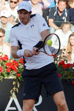 Andy Murray (GBR). ROME, ITALY - MAY 12, 2016: Andy Murray (GBR) during his match against Jeremy Chardy (FRA) at the Internazionali BNL d'Italia in Rome, Italy Royalty Free Stock Photos