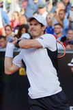 Andy Murray (GBR). ROME, ITALY - MAY 12, 2016: Andy Murray (GBR) during his match against Jeremy Chardy (FRA) at the Internazionali BNL d'Italia in Rome, Italy Royalty Free Stock Photo